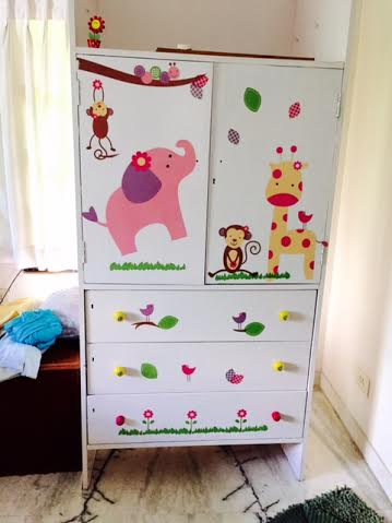 DIY : Your child's cupboard